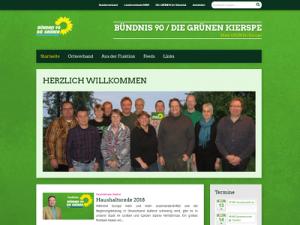 Screenshot: www.gruene-kierspe.de