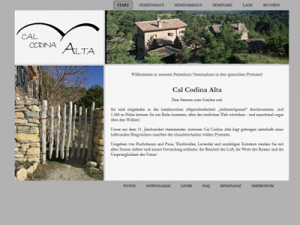Screenshot: www.cal-codina.de