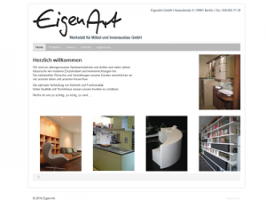 Screenshot: www.eigen-art.de