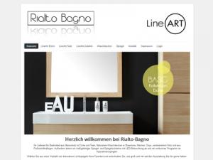 Screenshot: www.rialto-bagno.de